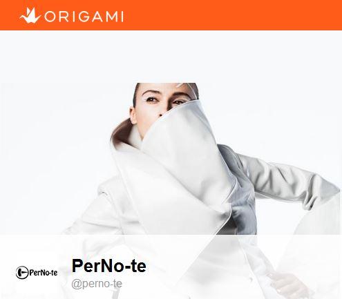 origamiにてPerNo-te(ペルノート)販売開始